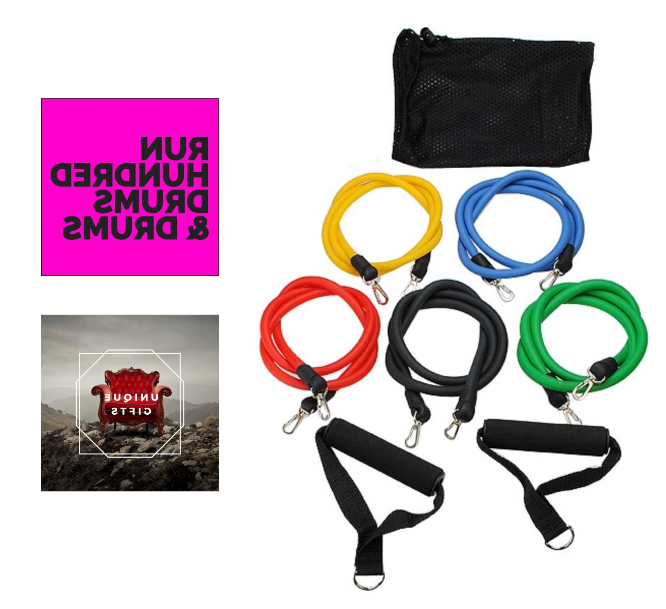 long resistance bands for athletes exercise arm