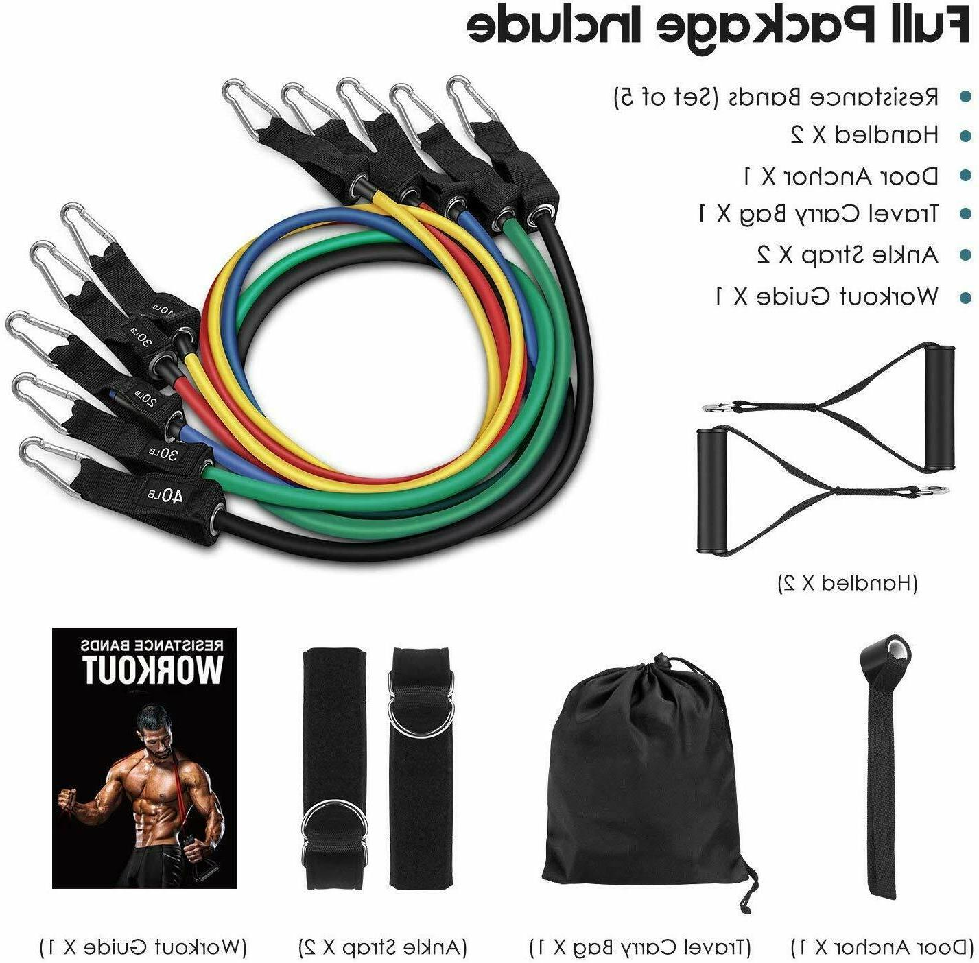 Whatafit Resistance Bands Set , Door Handles