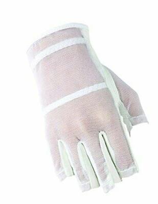 Women's Lightweight Open Finger Left Hand Mesh Golf Glove