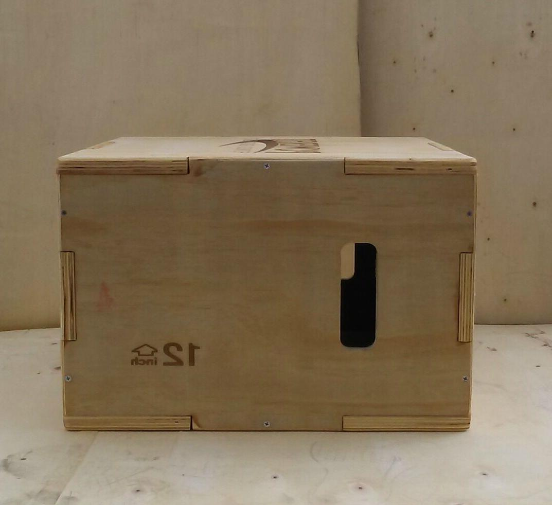 wooden plyo box free delivery