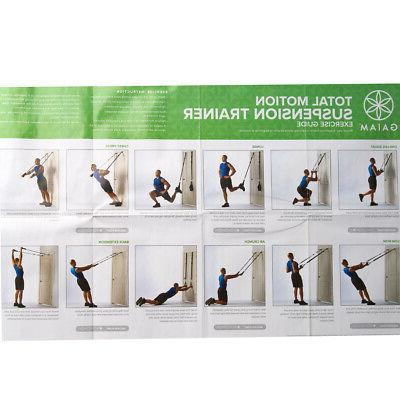 Gaiam Exercise Bands Fitness Total Motion Trainer