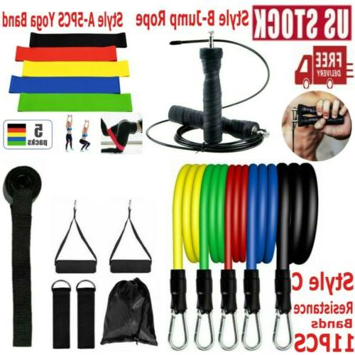 workout exercise fitness resistance bands yoga band