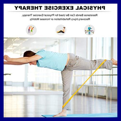 Kingserve Yoga Exercises Flexbands