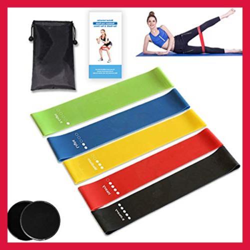 Kingserve Workout Fitness Yoga Stretch Flexbands Trai