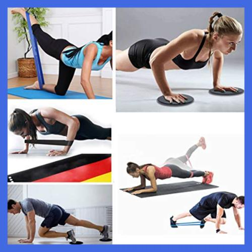 Kingserve Fitness Band Yoga Flexbands Trai