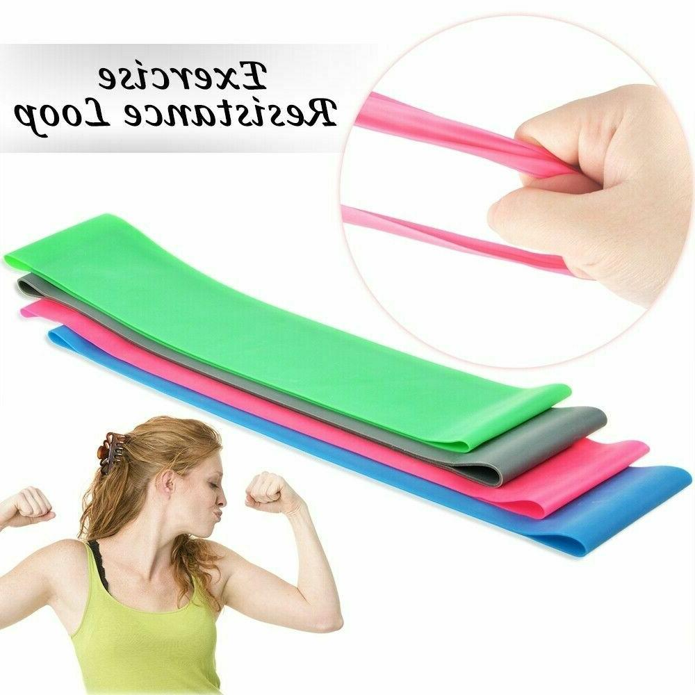 Workout Resistance Loop Set CrossFit Yoga Booty Leg Exercise Band