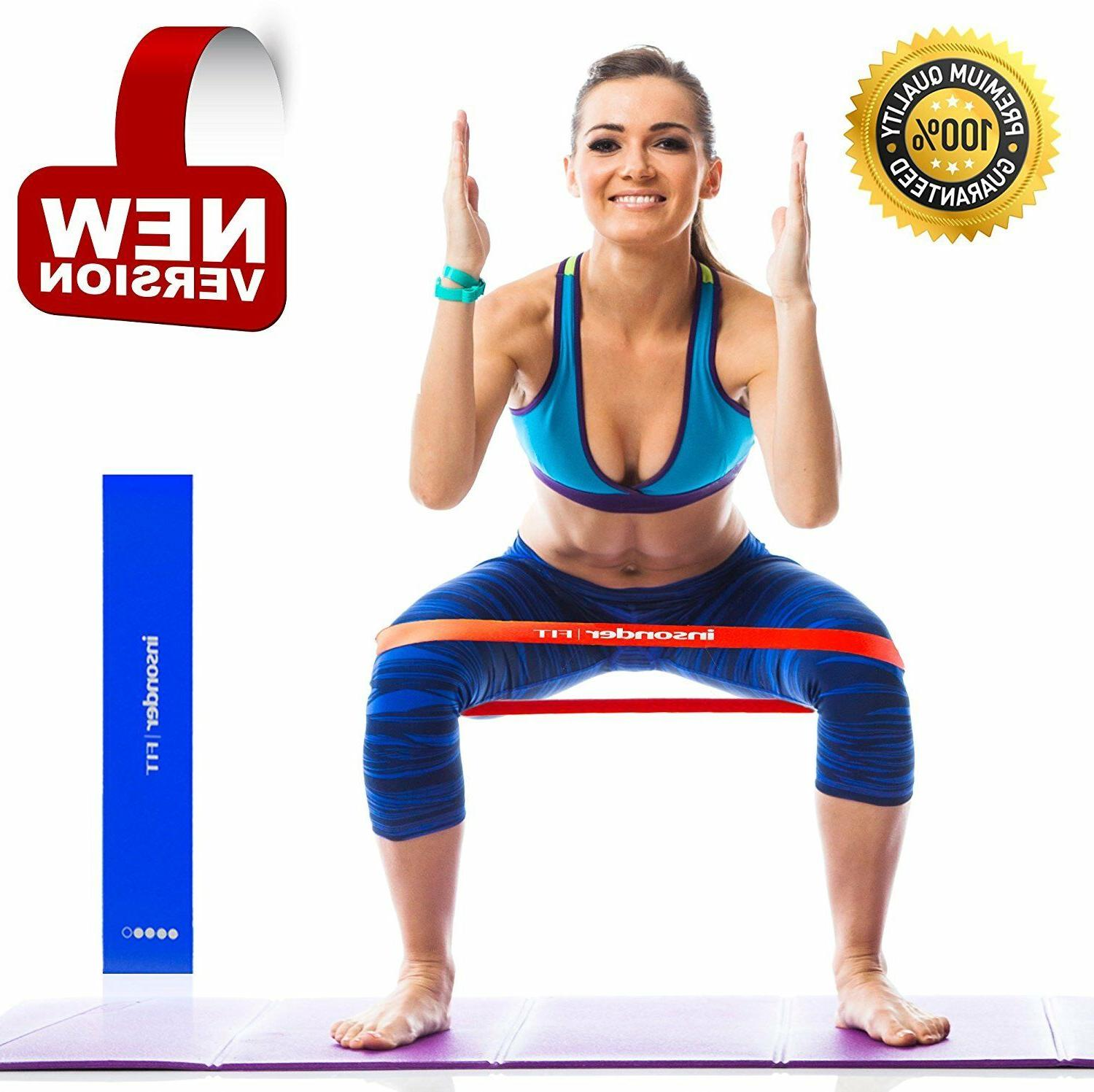 Workout Resistance Bands Set Fitness Booty Leg Exercise