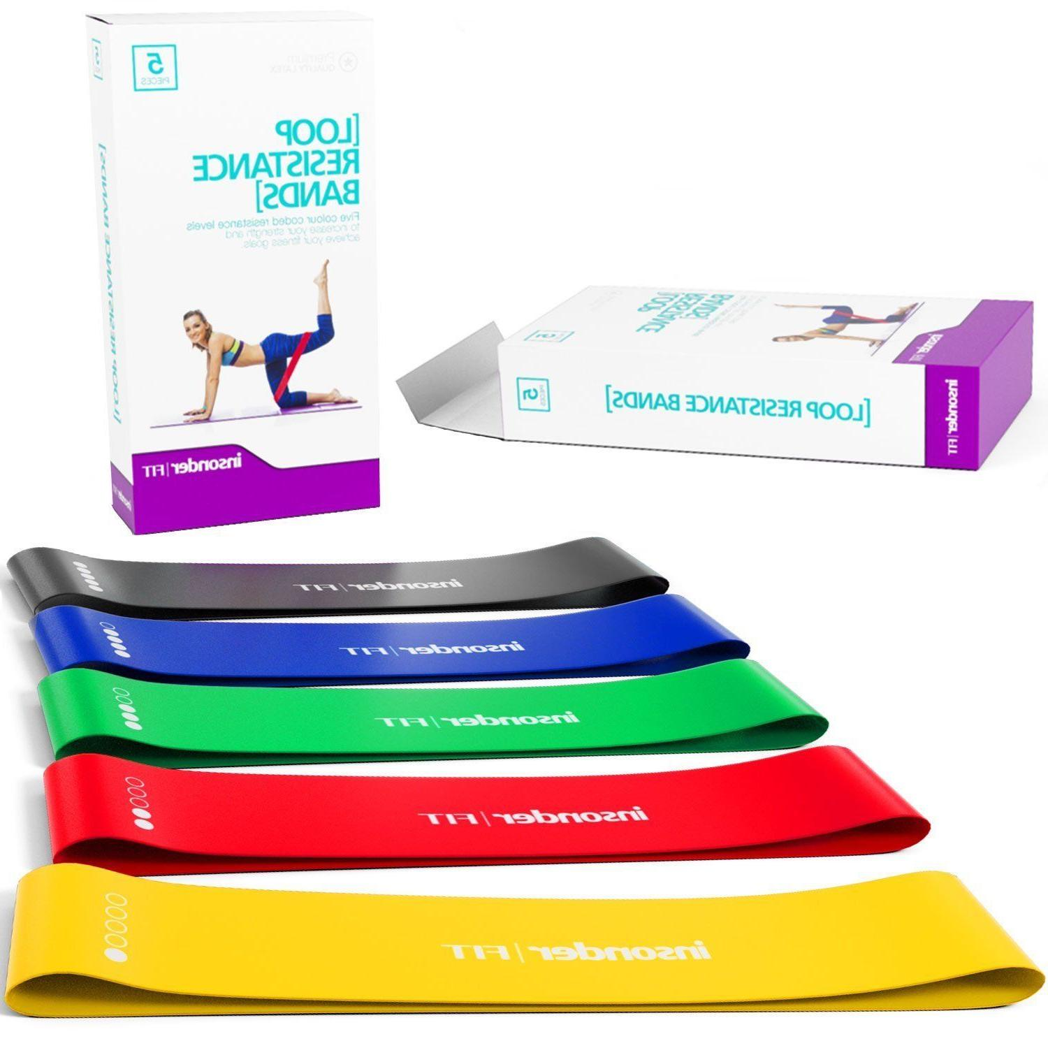 Workout Loop Set Booty Leg Exercise Band