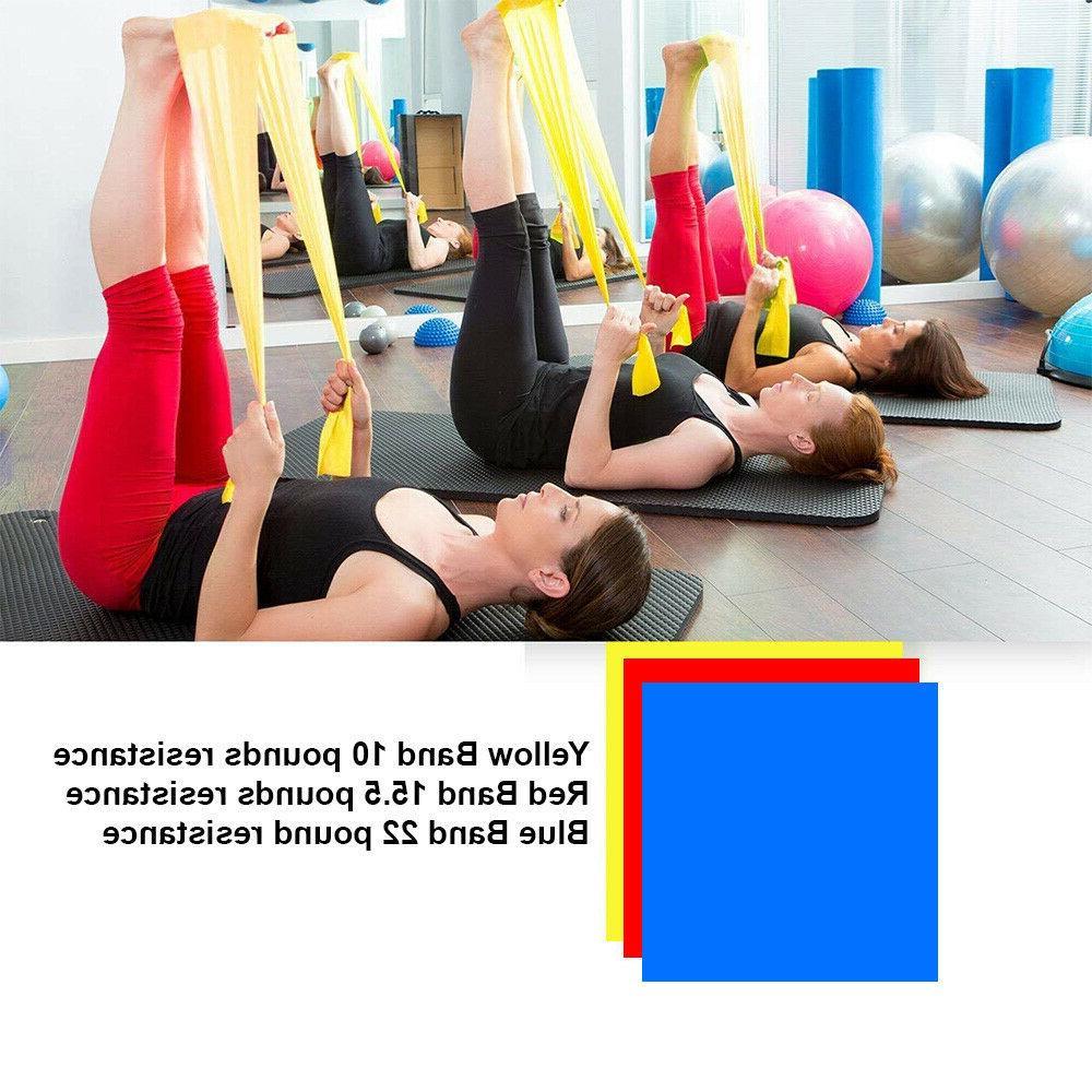 Workout Bands Loop Set Fitness