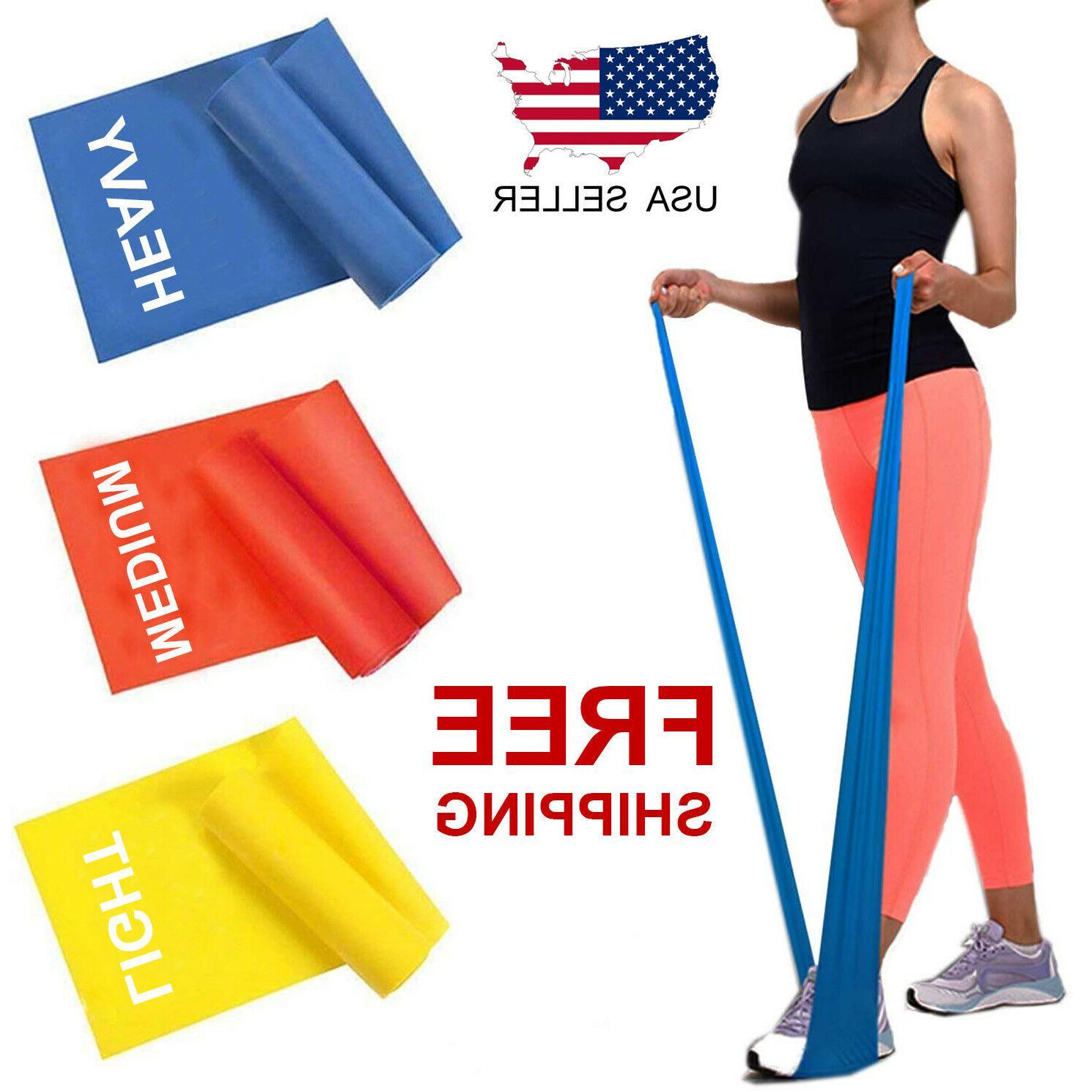 workout resistance bands loop set fitness yoga