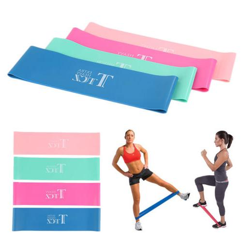 Workout Bands Set Yoga Body Exercise Color SKY0