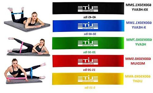 Gliding Core Set Exercise Bands 5 with Jump Rope Bag for Intense Low-Impact to Abs,