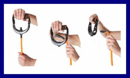 SPRI Xertube Resistance Band Cord Handles Pair