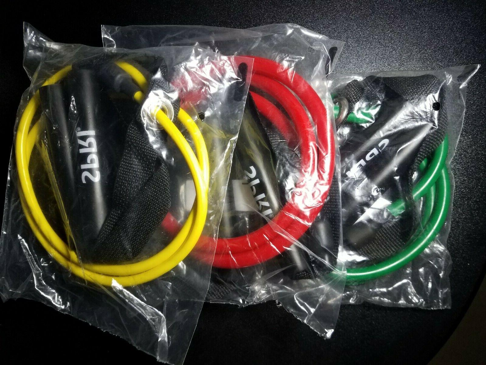 xertube resistance bands exercise cords with handles