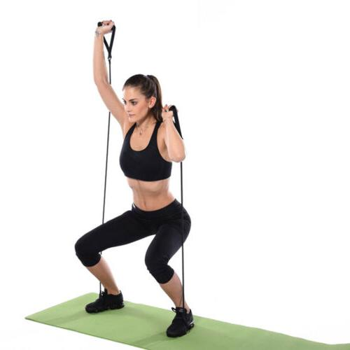 Yoga Rope Resistance Workout Exercise Tubes 120cm