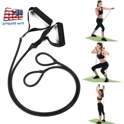 yoga pull rope elastic resistance bands fitness