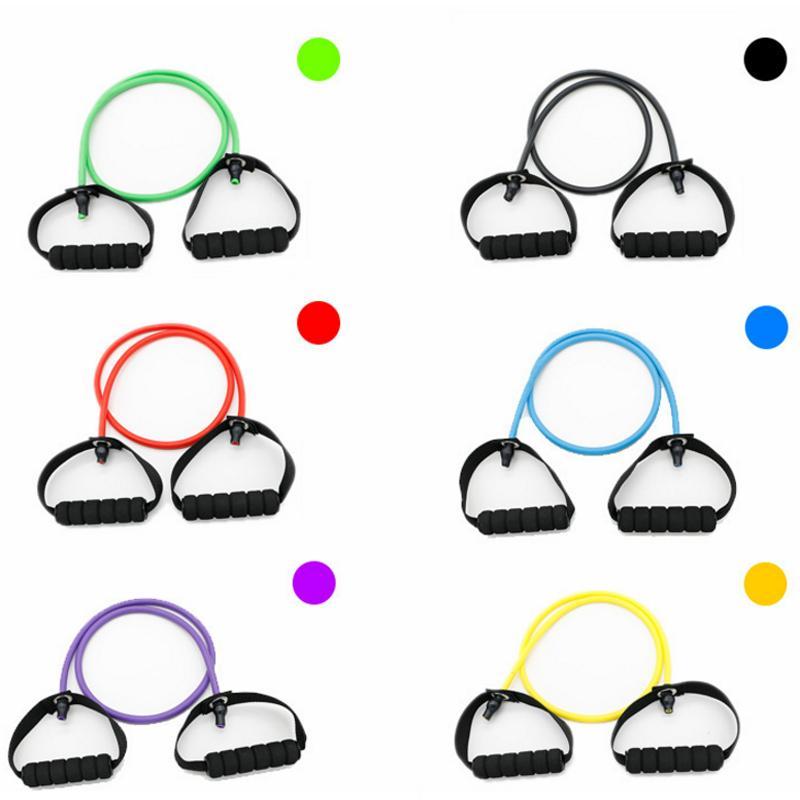 Yoga Pull Rope Resistance Bands Elastic Crossfit Sport