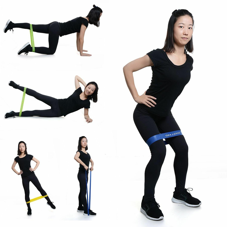 Yoga Rubber Bands Indoor Outdoor Fitness Equipment Sport Wor