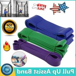 latex pull up assist bands resistance body
