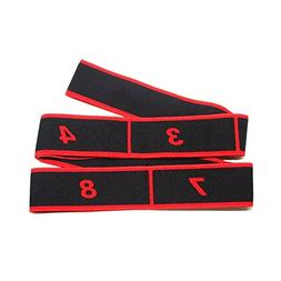 Latin Dance Elastic Stretch Belt Exercise Pull Strap Yoga Re