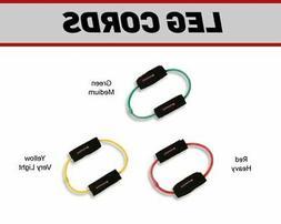 Leg Cord 3 Pack - Leg Exercise Bands