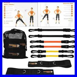 Leg Resistance Bands – Kinetic Agility & Speed Bands Train