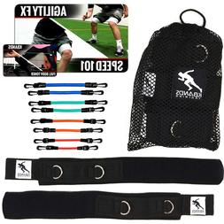Kbands | Speed and Strength Leg Resistance Bands | Includes