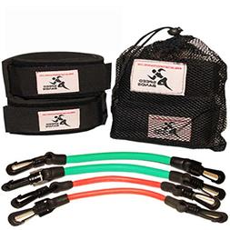 Speed Bands Leg Training Resistance band set for Running Pow