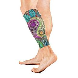 Leg Sleeve Hippie Compression Socks Support Non Slip Calf Sl