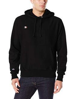 Champion Life3; Men's Reverse Weave Pullover Hoodie Black XX