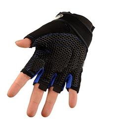 FYINN Weight Lifting Gloves Wrist Wraps Support, Pro Padded