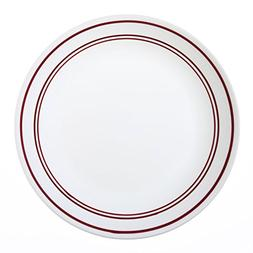 "Corelle Livingware Classic Café Red 10-1/4"" Dinner Plate"