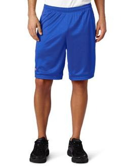 men s long mesh short with pockets