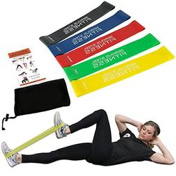 "Serious Steel Fitness 12"" Mini Loop Resistance Band Rehab, P"