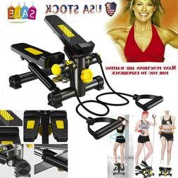 Mini Stepper Resistance Bands Home Gym Exercise Fitness Equi