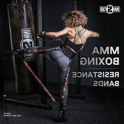 MMA Boxing Training Resistance Band Enhance Explosive Power