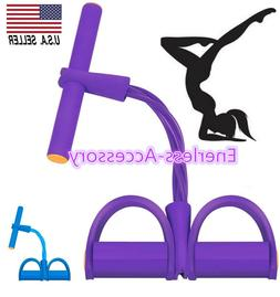 Multifunction Tension Rope Sit-ups Yoga Tensioner Exercise P