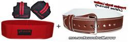 Murderous Row Powerlifting Belt  + Hip Circle + Wrist Wraps