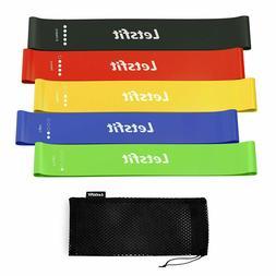 natural latex workout bands pilates flexbands 12