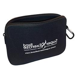 Super Exercise Band USA Neoprene Zipper Carry Pouch for Yoga