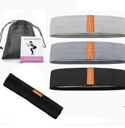 New 3 Piece Resistance Bands Set , With Head Band.
