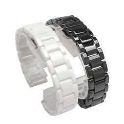 New Ceramic Watch Bracelet Water Resistant Butterfly Buckle