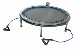 NEW Home Workout Trampoline w/ Resistance Band Handles Weigh