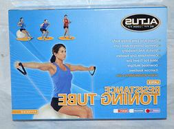 New Altus Latex Resistance Toning Tube Fitness Be Fit Look F