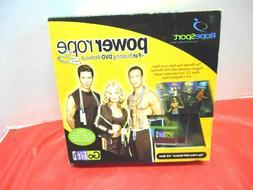 NEW GoFit Power Rope Set W/Fat Blasting DVD Workout
