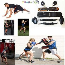 New Resistance Bands Fitness Equipment Explosive Kicking Box