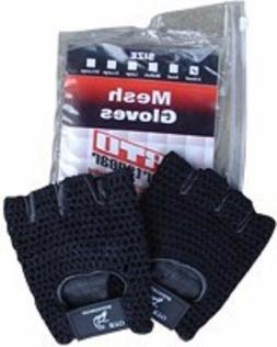 NEW RTO BLACK LEATHER MESH SHOOTING GLOVES LARGE L