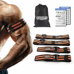 Occlusion Wraps Pro Resistance Bands Fitness Arm Leg Blaster