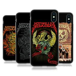 OFFICIAL KILLSWITCH ENGAGE BAND ART GEL CASE FOR APPLE iPHON