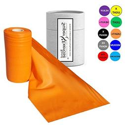 Super Exercise Band Orange Light+ Strength Latex Free Resist